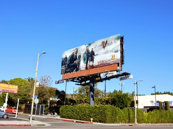 Vikings season 3 billboard