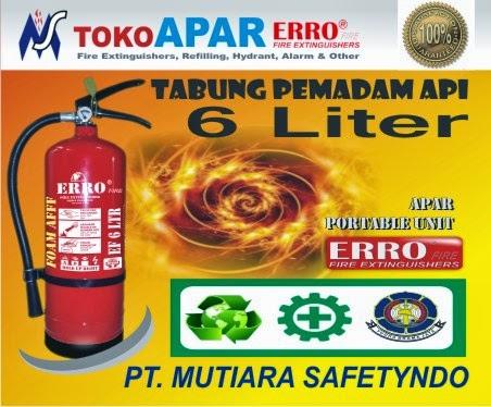 Alat Pemadam Api 6 Liter Foam AFFF
