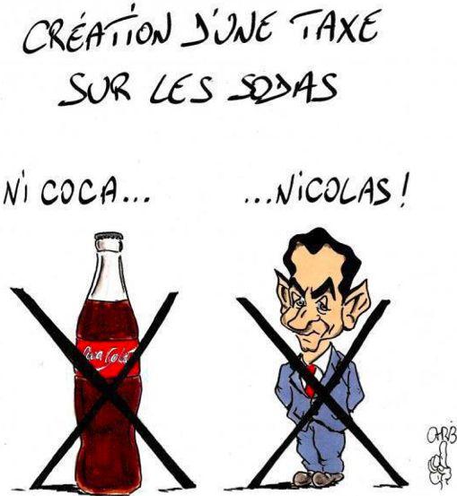 vive les taxes  Coca