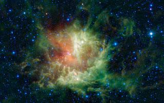 Туманность «Пакман» (NGC 281)  в созвездии Кассиопеи