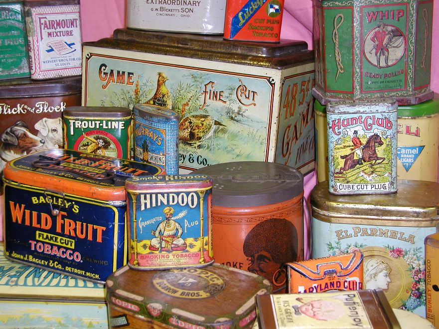 Tin tin for Valuable antiques and collectibles