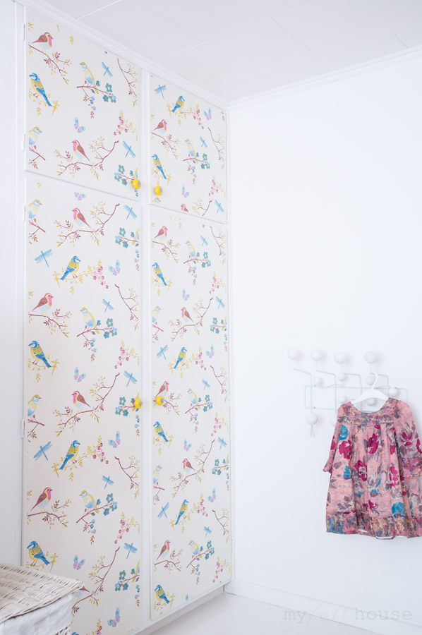 How to put wallpaper on furniture – tips