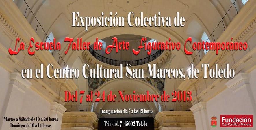 LA ESCUELA TALLER DE ARTE FIGURATIVO CONTEMPORÁNEO, EN SAN MARCOS
