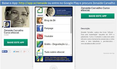 Baixe o aplicativo da Zê! Zenaide Carvalho