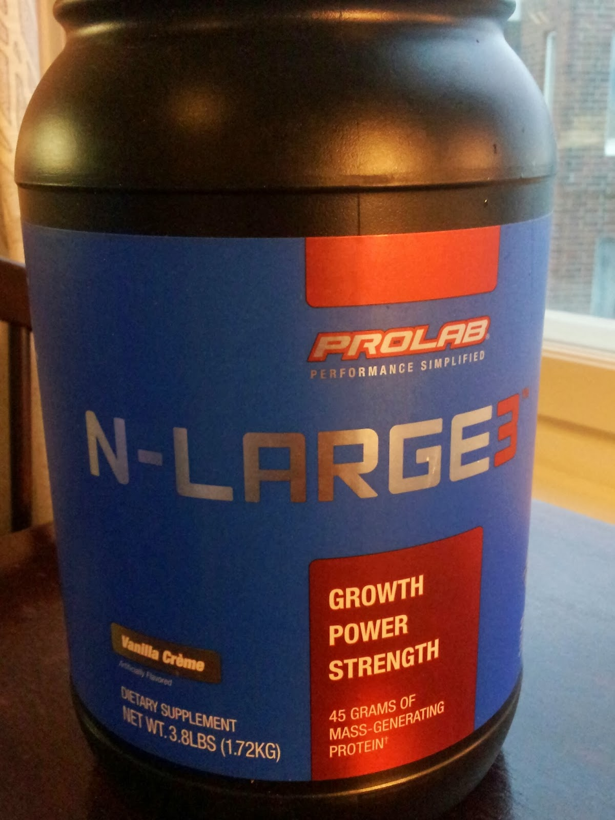 Prolab N Large 3 Chocolate - See Details Here