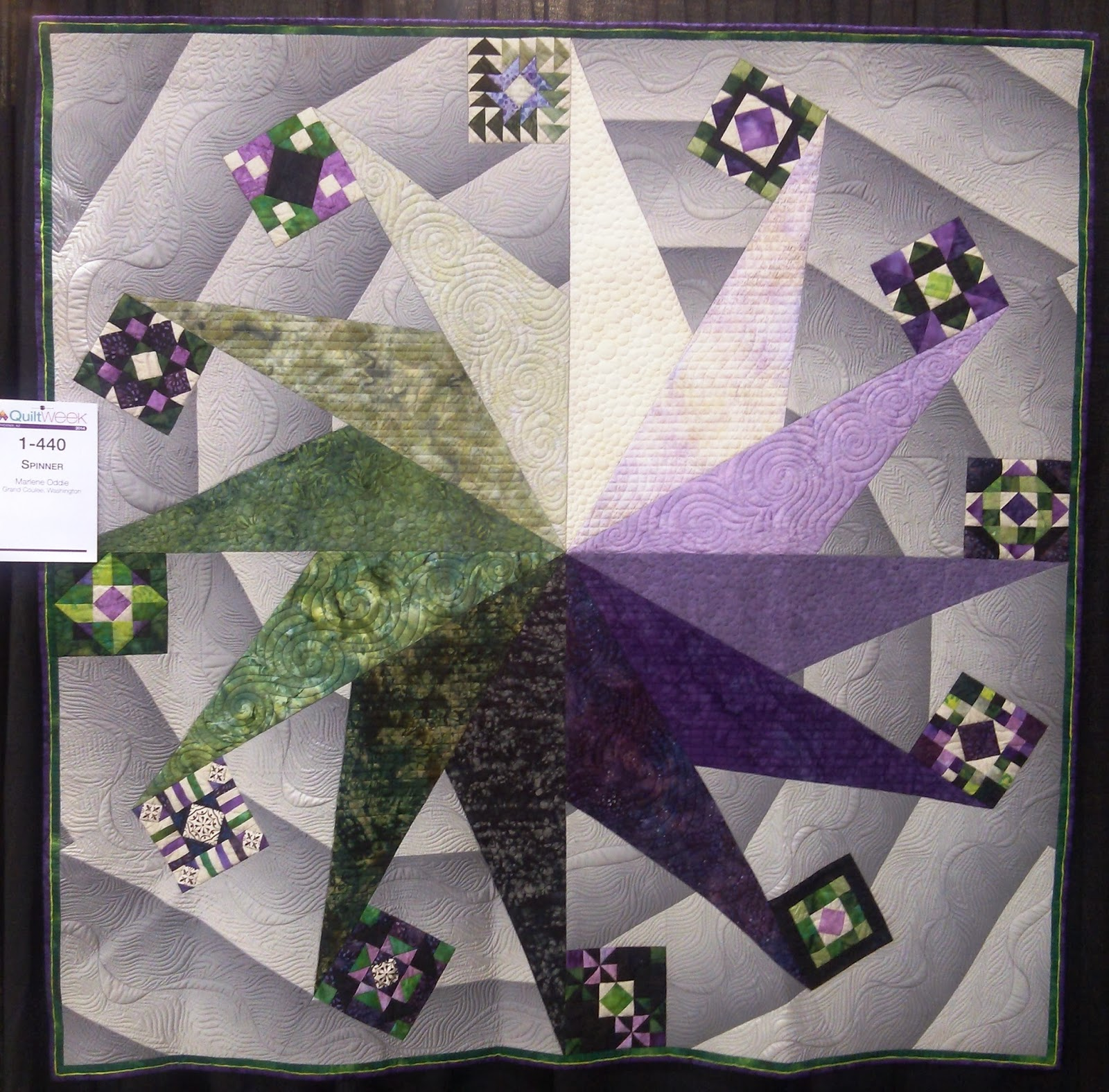 Kissed Quilts Keeping It Simple And Stunning Aqs Quilt Week