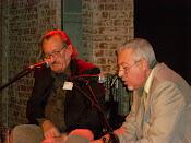 Con el autor Lucas Catherine en la presentacion de su libro Morisco's