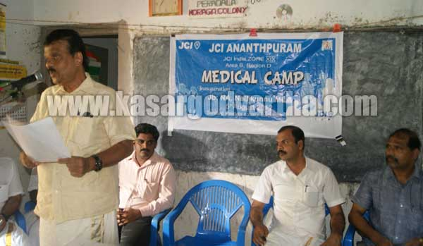 Medical camp inaguration In Perdala Koraga colony, Badiadka, Kasargod