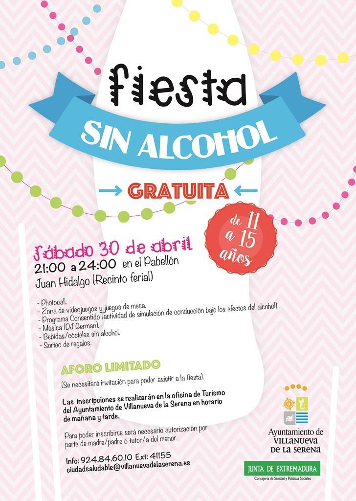 Fiesta sin alcohol