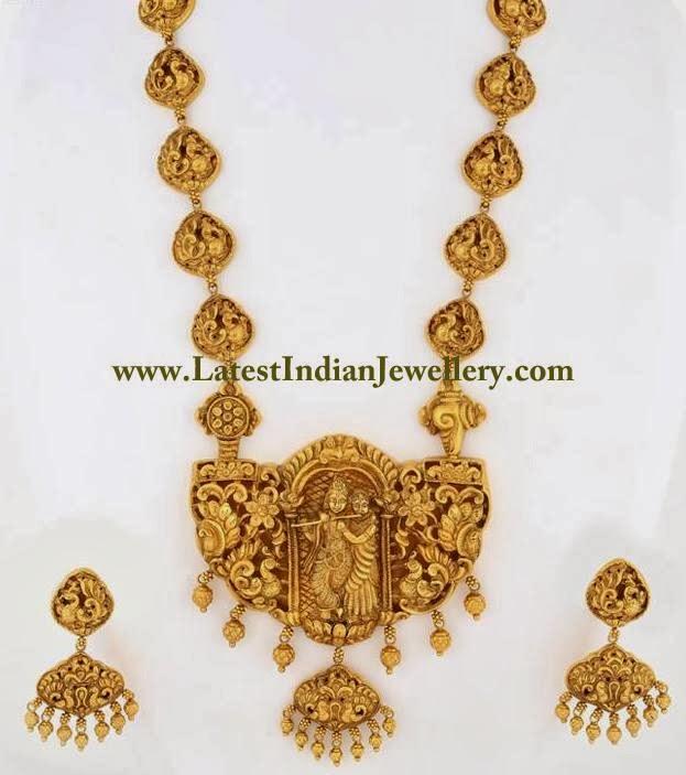 Radha Krishna Gold Haram