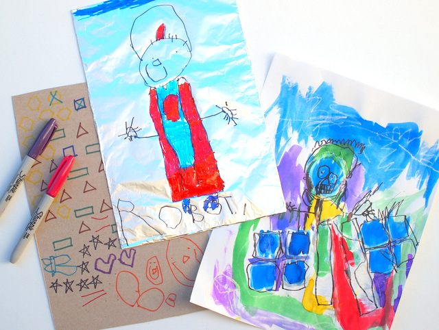 3 Easy Preschool Robot Art Activities - No prep, fun activities!