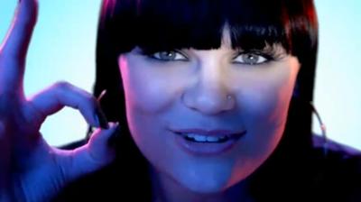 Jessie J, eyes, Youtube 2010.