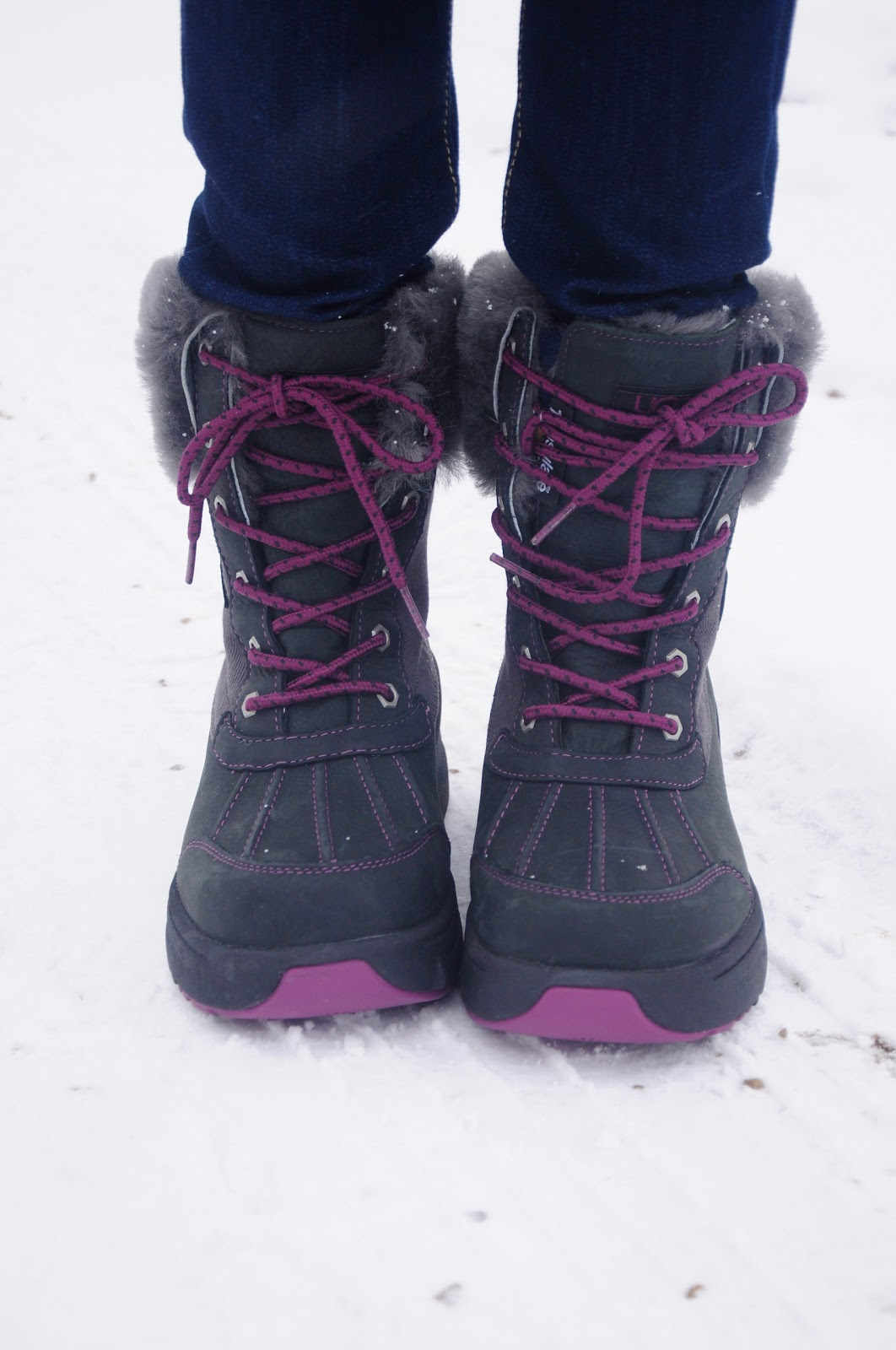 UGG with Hoka technology winter boot