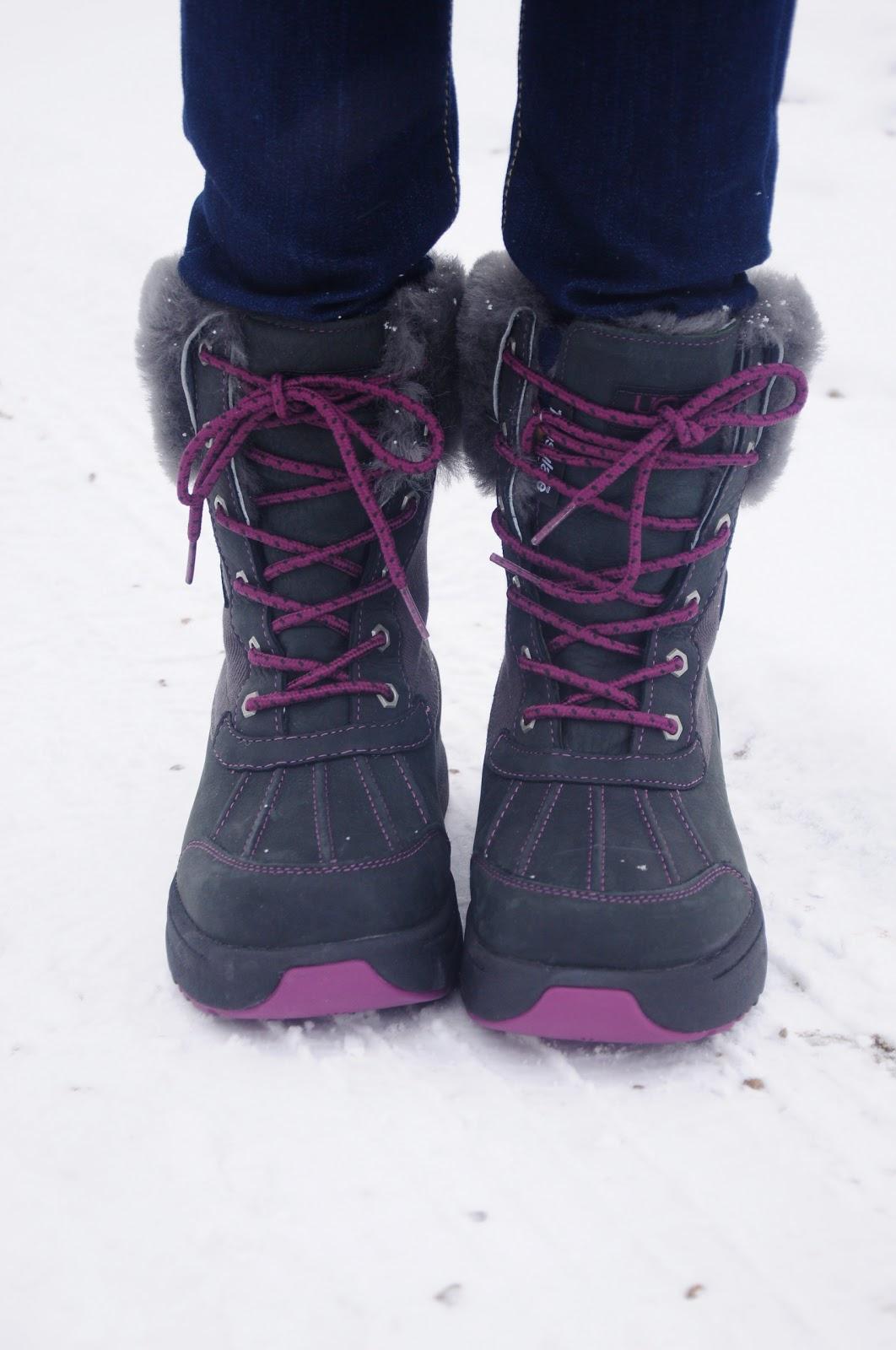 UGG with Hoka technology winter boot