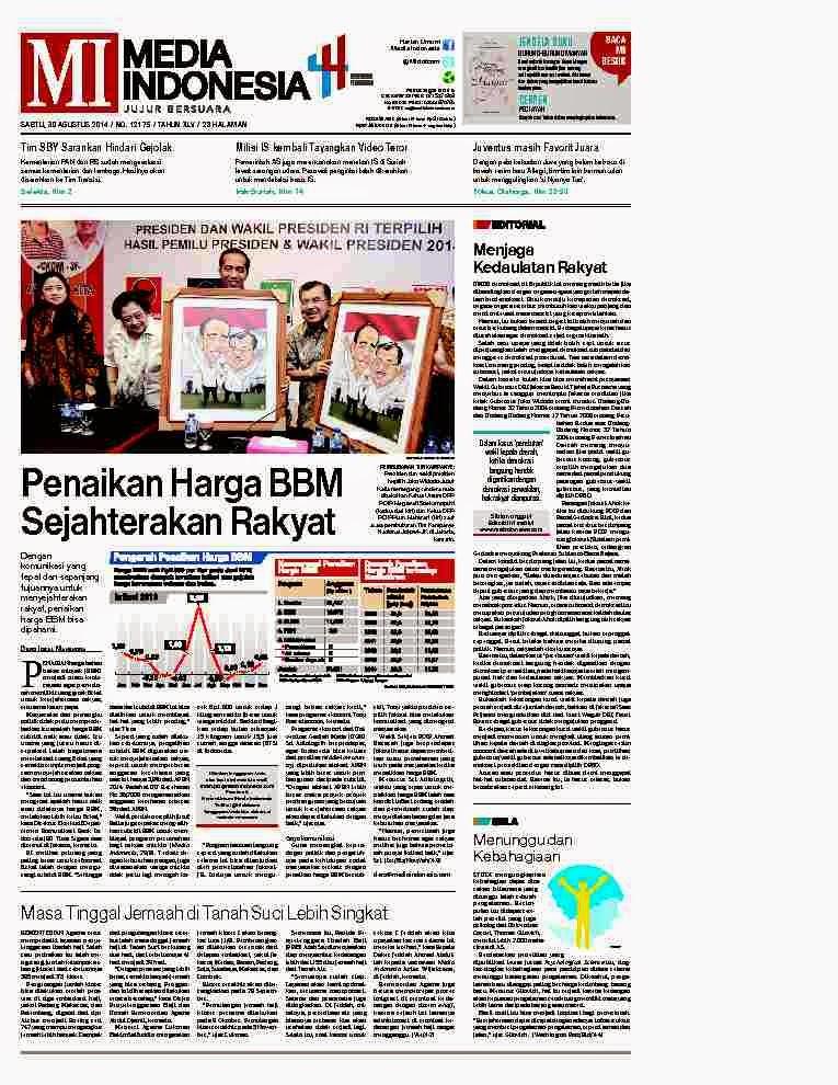All in update koran majalah dll hari ini
