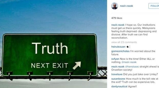 Rakyat Malaysia akan dapat 'Kebenaran' tak lama lagi – Nazir Razak