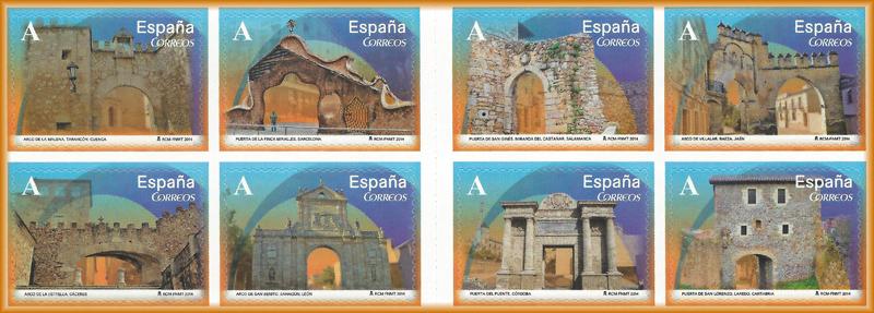 Sellos de Arcos y Puertas monumentales