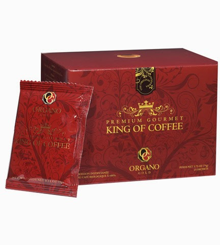 Premium Gourmet King of Coffee Organo Gold Cafe vua