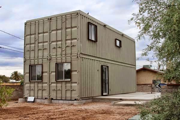 A Shipping Container Costs About $2,000. What These 15 People Did With That Is Beyond Epic - Utilitarian… and awesome.