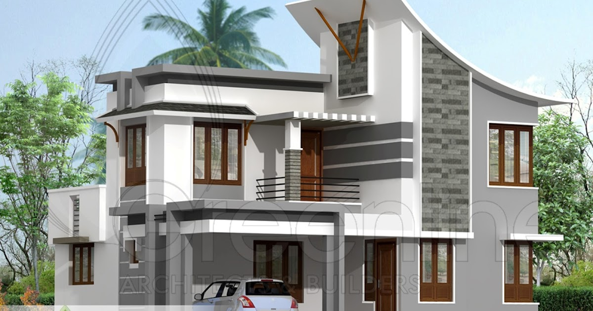 Modern Home Design October 2012: Marchelle Bugbear: 1880 Sq Ft Modern Indian Style House