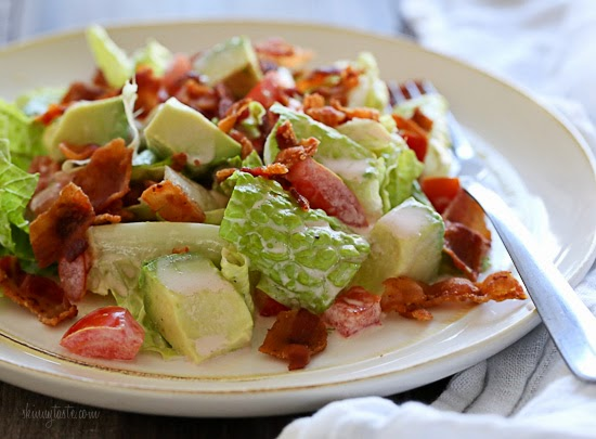 BLT Salad with Avocado + The Skinnytaste Cookbook and OXO ...