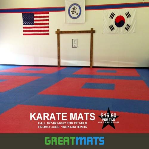 Greatmats Specialty Flooring Mats And Tiles Karate Mats