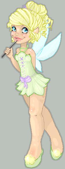 Tinker Bell -Oekaki- por Kawaru