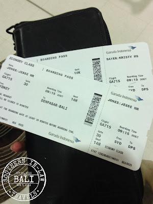 Garuda Indonesia Ecomony Sydney to Bali Review