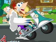Phineas And Ferb Crazy Motorcycle