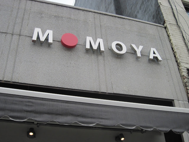 Japanese dining in New York can be found in many place, but a touch of Mom can be found at Momoya.