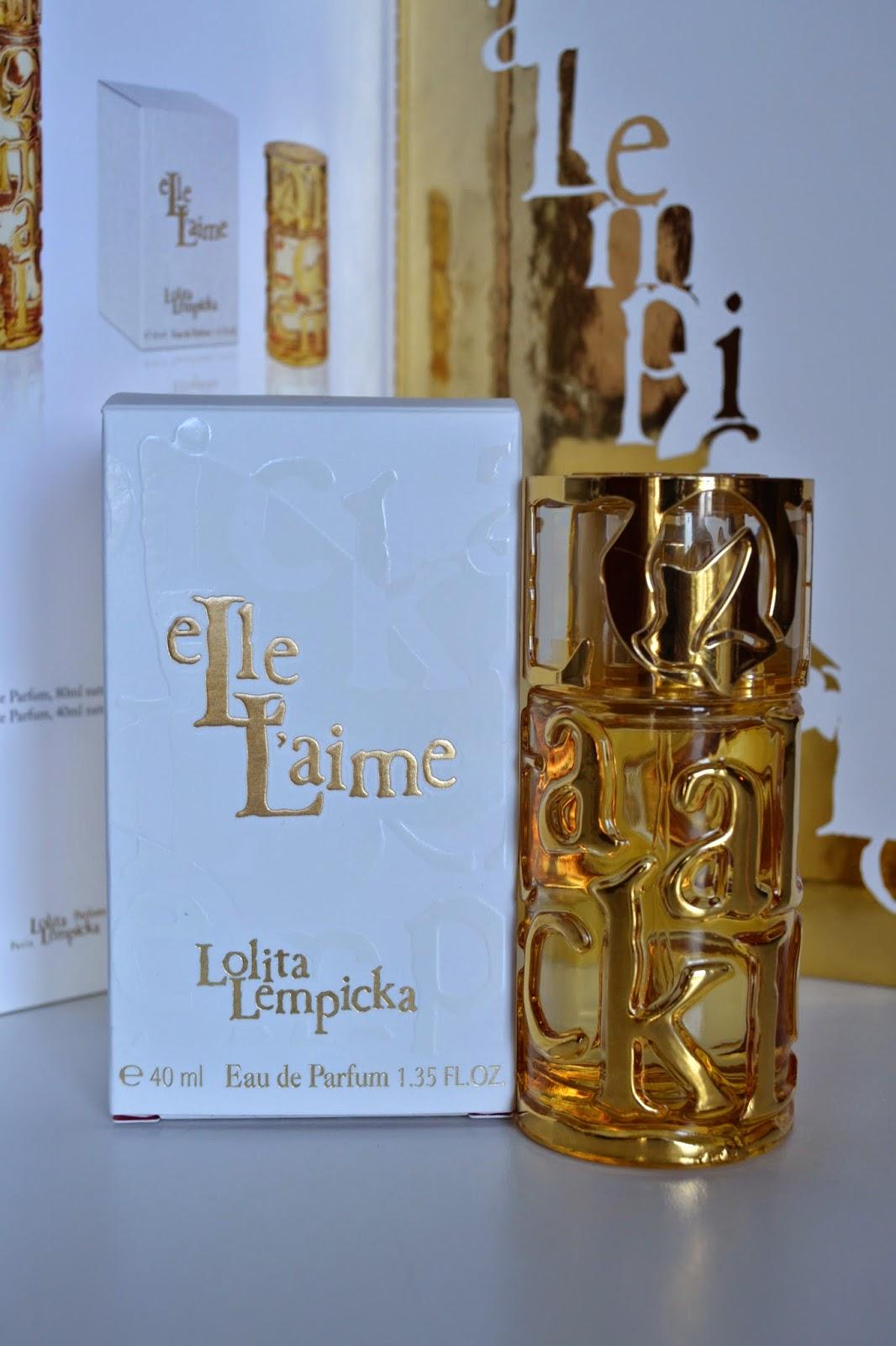 lolita lempicka -  elle l'aime - parfüm - favori parfümler - perfume