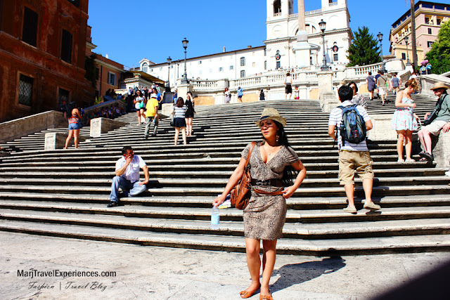 most beautiful place in the world spanish steps rome