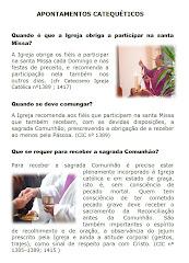 APONTAMENTOS CATEQUÉTICOS