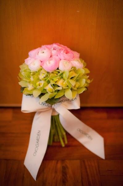 好新當日放了三日結婚花球