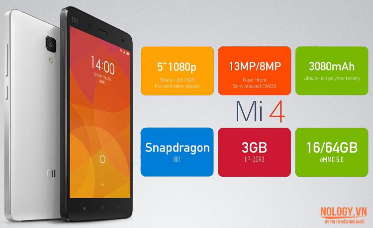 Siêu phẩm Xiaomi Mi 4 đến từ Trung Quốc