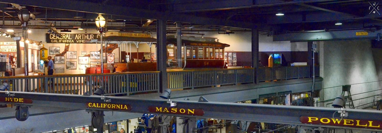 Cable Car Museum - San Francisco, Californie, USA