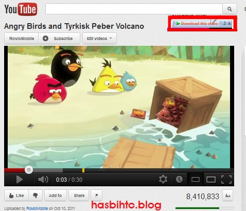 Cara sederhana Download Video di Youtube tanpa software