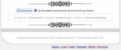 recommend jobdirumah