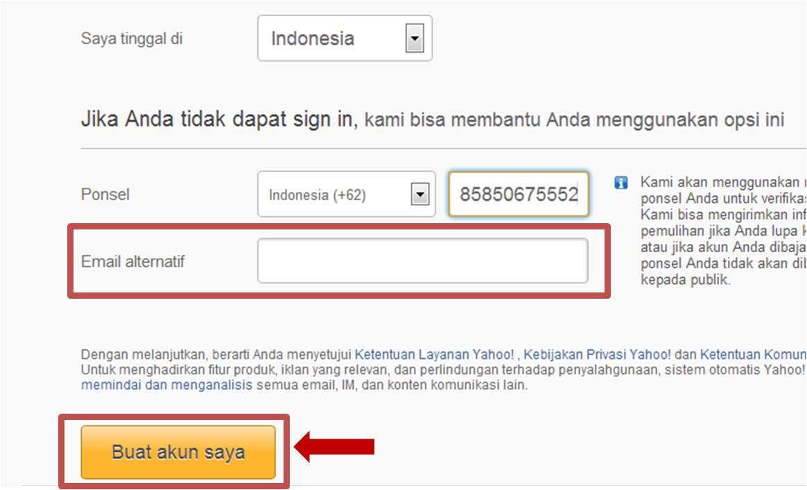 Cara Membuat Email Yahoo Indonesia Baru | Cara Hack