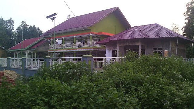 Bangunan Kantor Desa Gampong Keutapang Krueng Dhoe, Sanggueu - Pidie.