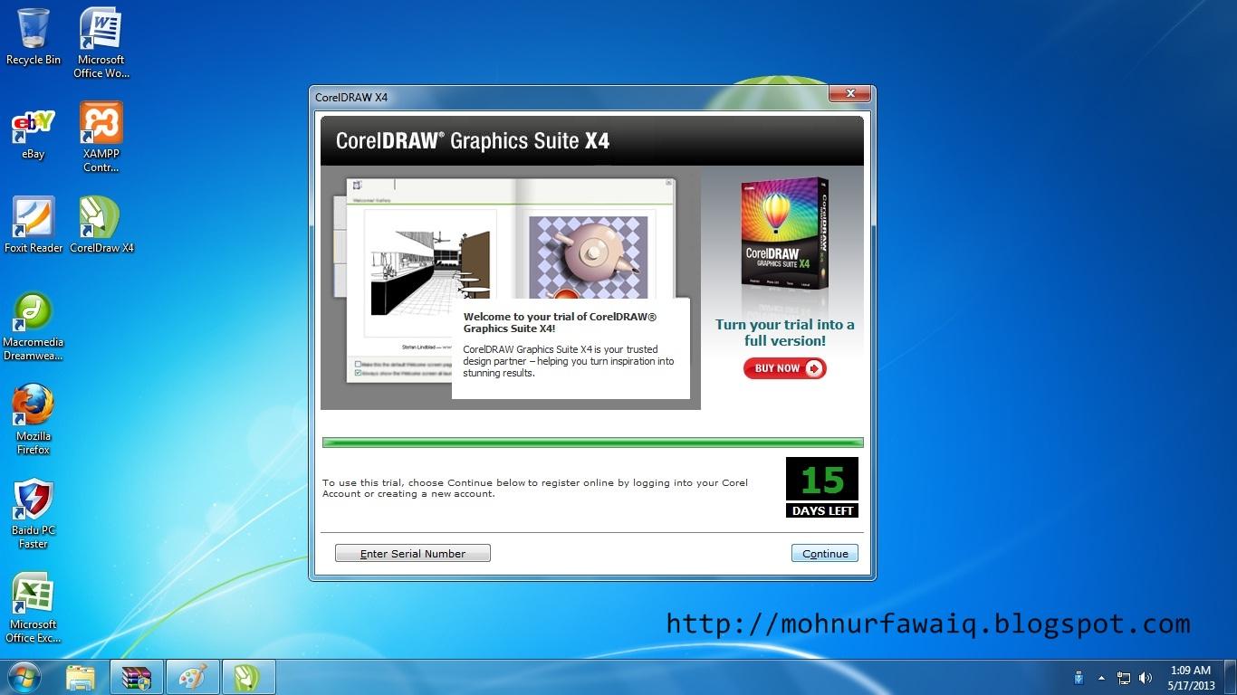 Membuat CorelDraw X4 Full Version   Cah RPL