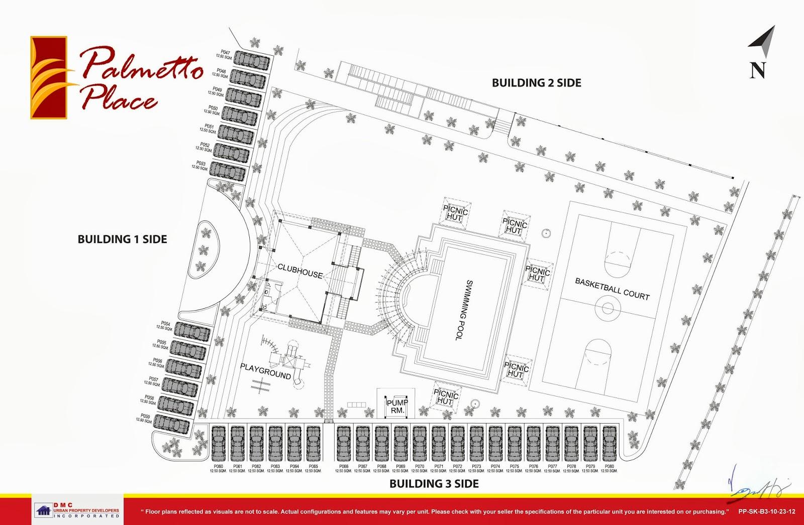Palmetto Place Condominium, Ma-a, Davao City Project Map