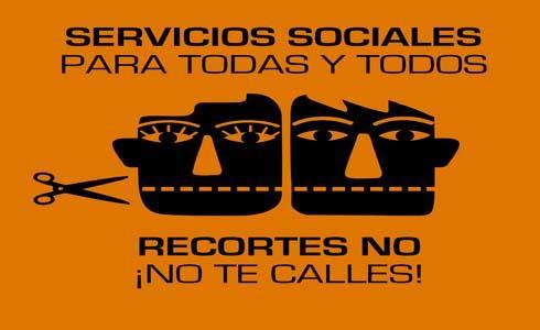 No a los recortes sociales