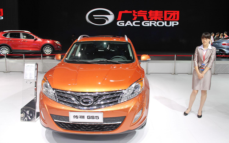 Guangzhou Displays its CUV, Electrified Wares at 2013 Detroit Show