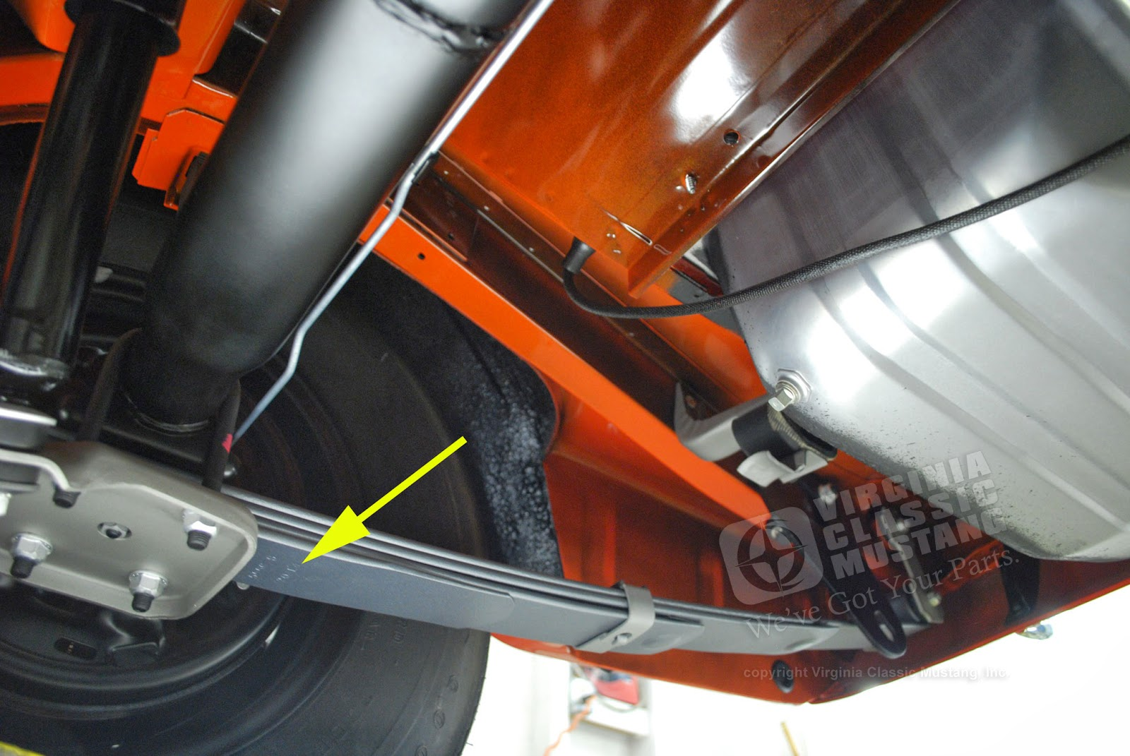 Virginia classic mustang blog just the details date codes on mustang rear leaf springs