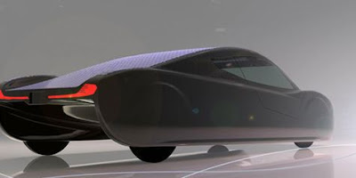 New Model Solar Car Sunswift Eve