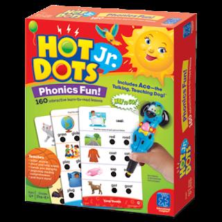 chalk talk a kindergarten blog hot dots jr giveaway. Black Bedroom Furniture Sets. Home Design Ideas