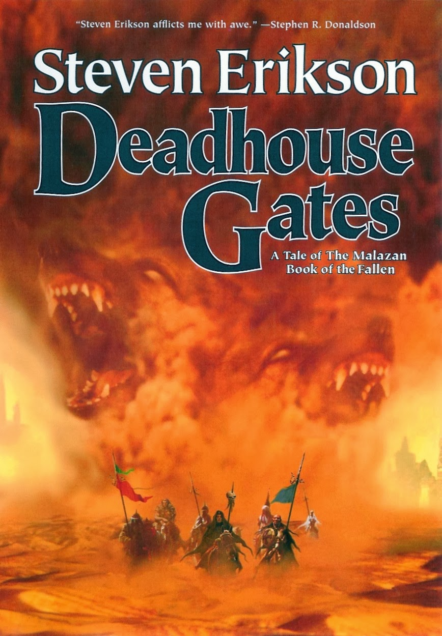 daniels corner unlimited book review deadhouse gates by