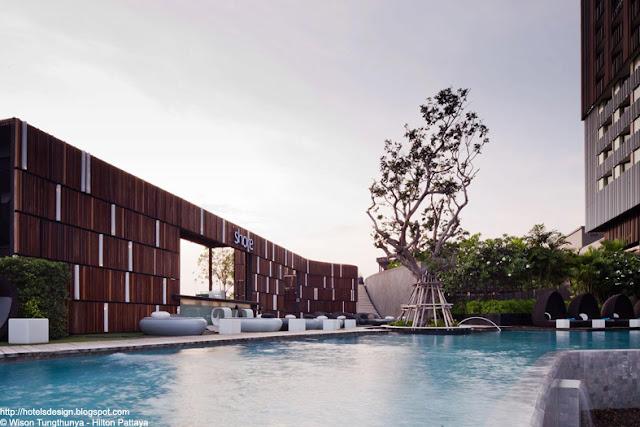 les plus beaux hotels design du monde h tel hilton pattaya by t r o p pattaya thailande. Black Bedroom Furniture Sets. Home Design Ideas