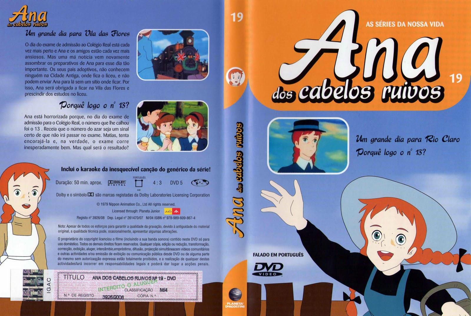 Ana dos Cabelos Ruivos Vol.1 A 25  PT-PT Ana+dos+Cabelos+Ruivos+Vol.19-capa